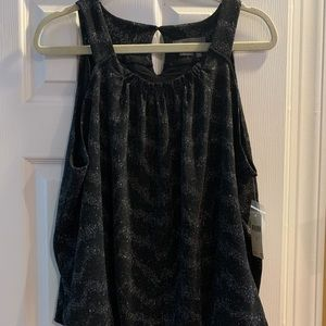 NWT Anthropologie Carly Shimmer Tank Top